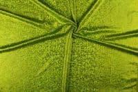 Luxury Elastic Snakeskin Foil Fabric Material - KIWI